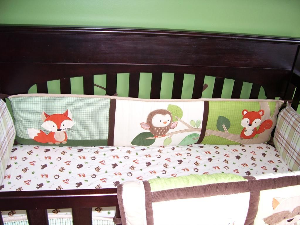 Woodland Animals Quilt Baby Bedding Sets Cool Beds