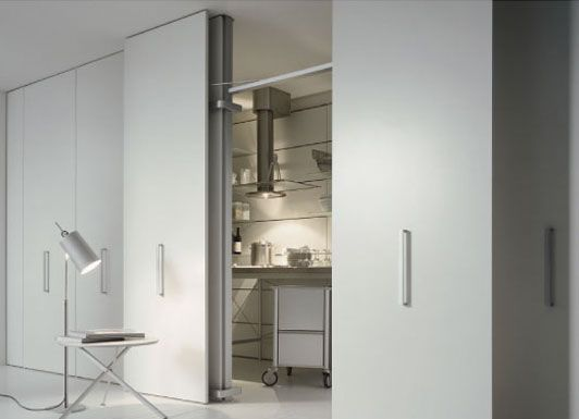 retractable room dividers siematic space efficient folding room