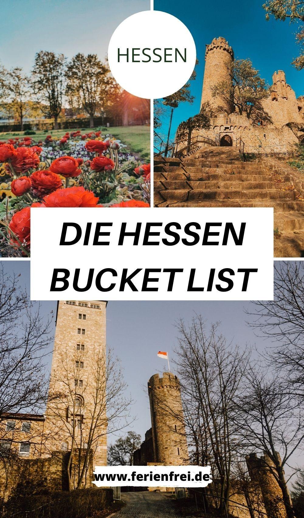 Die Hessen Bucket List mit 20 Ausflugszielen in Hessen in 20 ...
