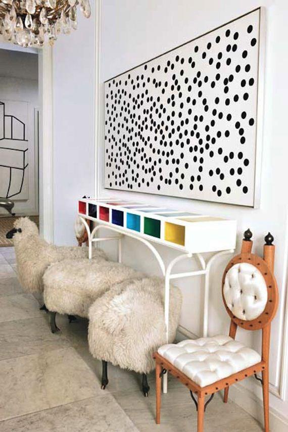 a topos black dots la factoría plástica home designs casaa topos black dots la factoría plástica hallway decorating, interior decorating, dot