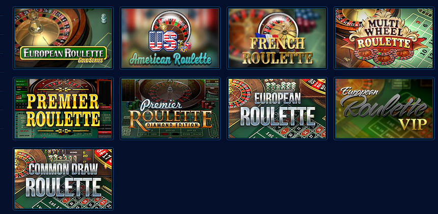 Great online roulette games from legendary casino games