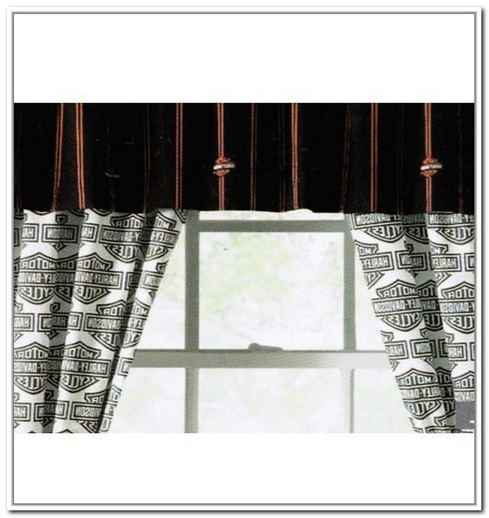 Harley Davidson Curtains And Rugs