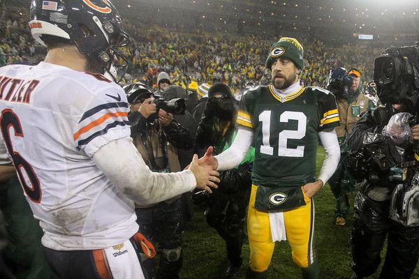 Aaron Rodgers Photos Photos Chicago Bears V Green Bay Packers Green Bay Packers Green Bay Packers
