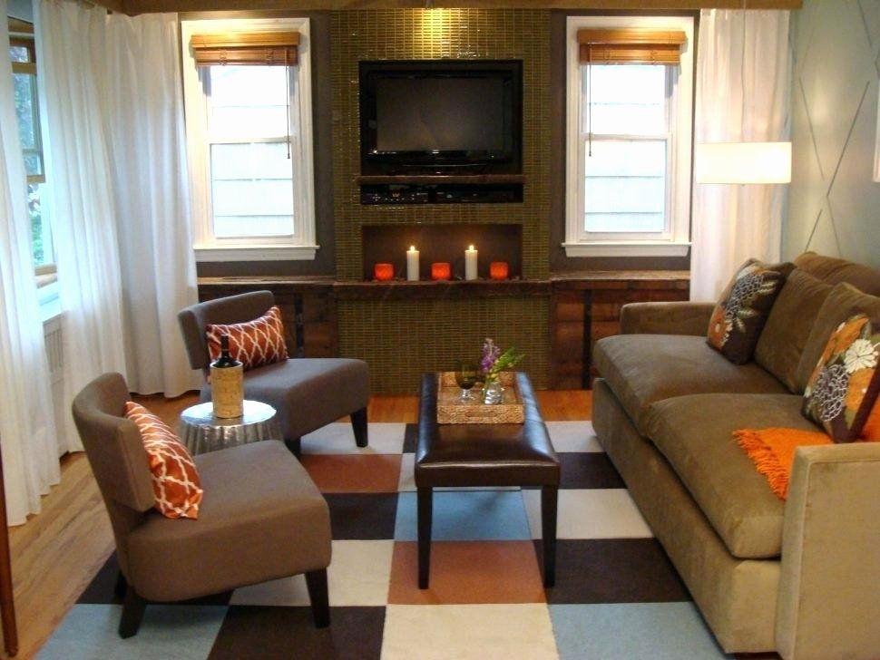 Rectangle Living Room Furniture Arrangement Background