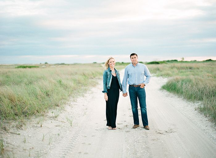 CHRISSY, JAMES and HERO | BREEZY POINT NEW YORK ENGAGEMENT