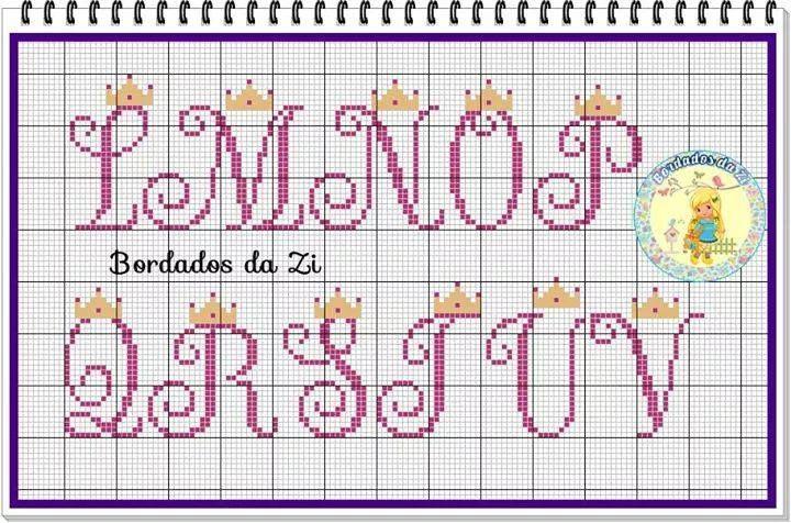 Alfabeto Maiusculo Para Uma Princesa Com Imagens Alfabeto