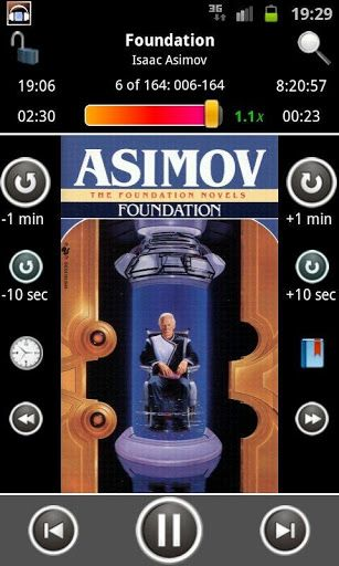 Akimbo Audiobook Player V1 6 2 Apk Requirements Android 2 1 Overview Akimbo Player Is The Most Comprehensive Audio Audio Books Foundation Isaac Asimov App