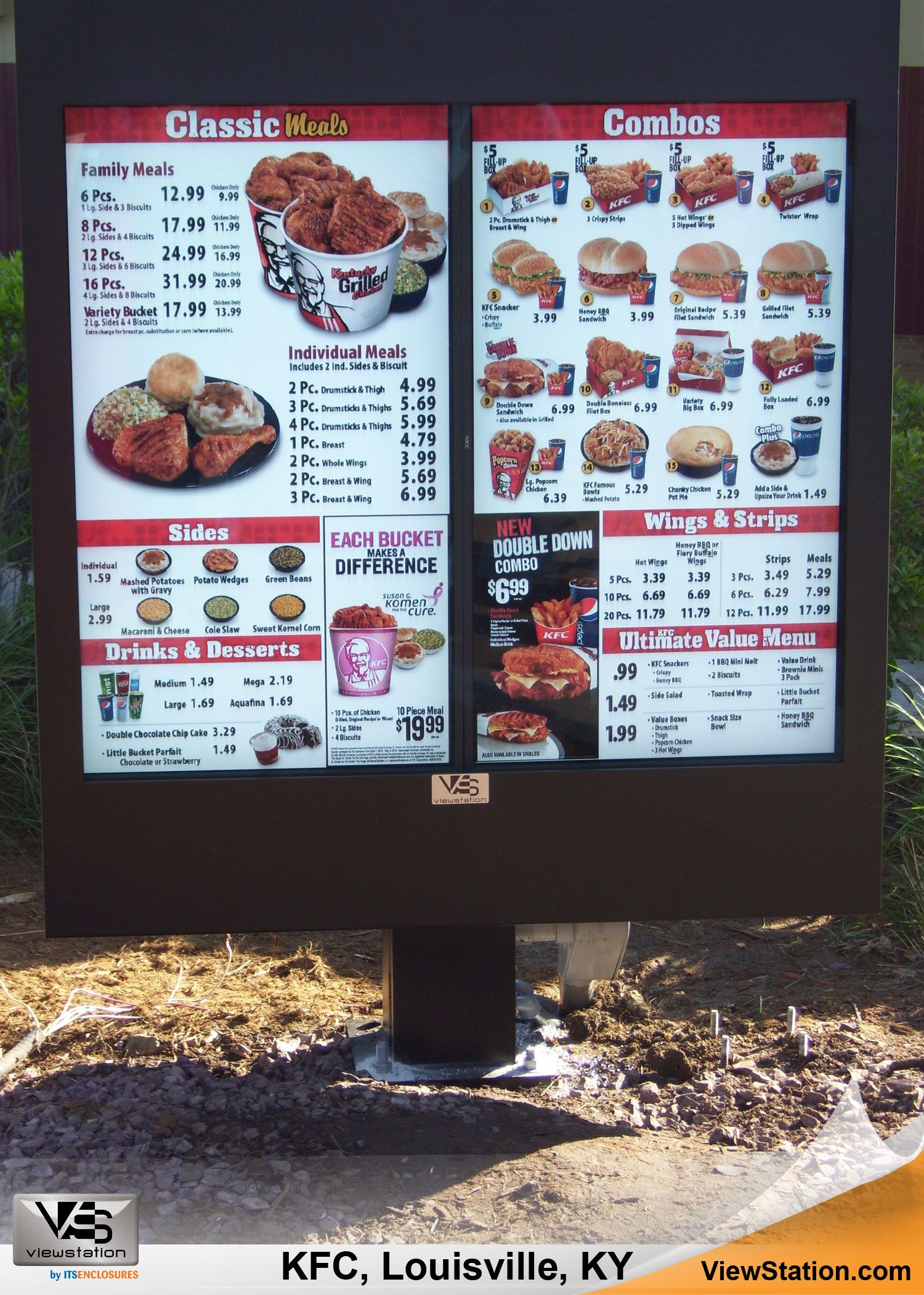 KFC (Kentucky Fried Chicken) Louisville KY - Digital Menu ... - photo#33