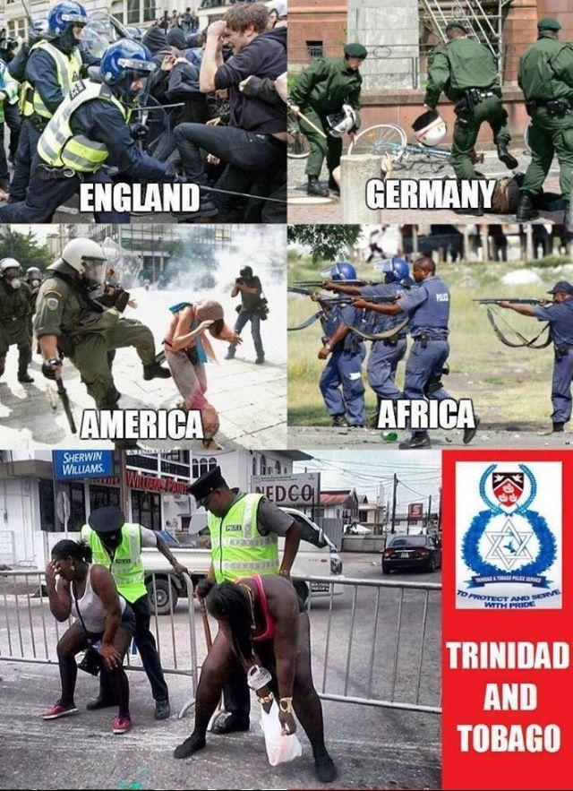 Happiest Police Alive Esp During Carnival Trinidad Culture Caribbean Culture Trinidad And Tobago