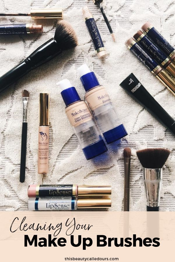 How To Clean Your Make Up Brushes Makeup, Beauty blender