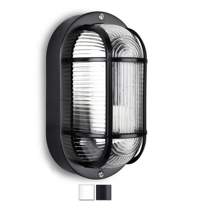 Industrial style oval ip44 outdoor bulkhead light new house industrial style oval ip44 outdoor bulkhead light mozeypictures Images