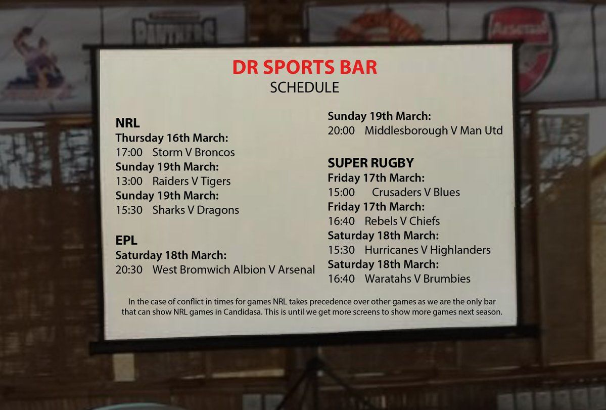 Ready for pizza, beers and sports? Only at DR Sports Bar www.diningroomcandidasa.com  #bali #sportsbar #beer #pizza #restaurant #bar #superrugby #nrl #epl #candidasa #eastbali