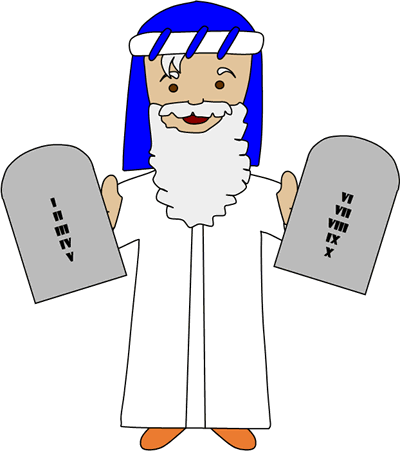 La historia de Moisés y los 10 mandamientos | CF1 en 2018 ...