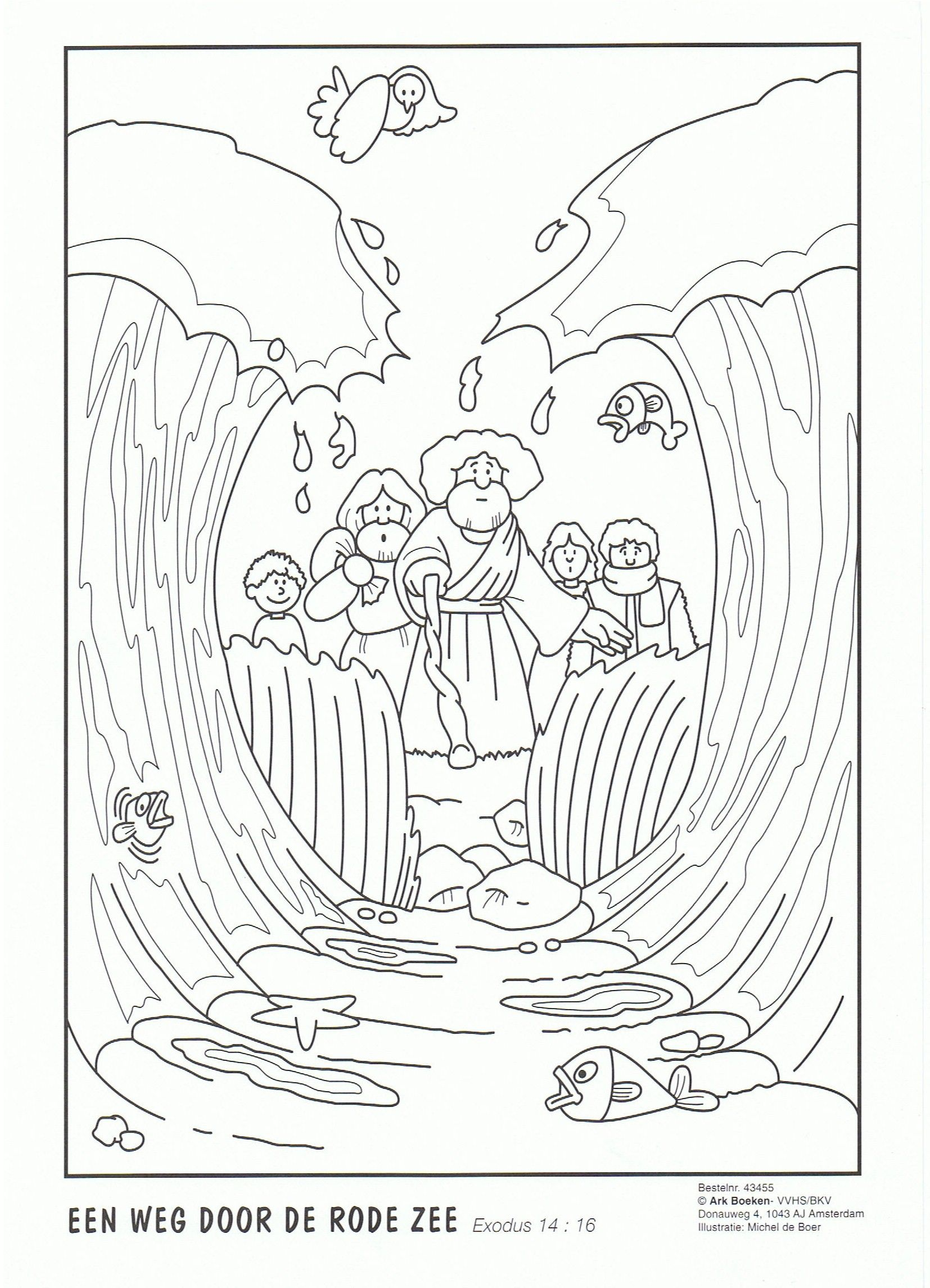 Red Sea Moses bible story Pinterest
