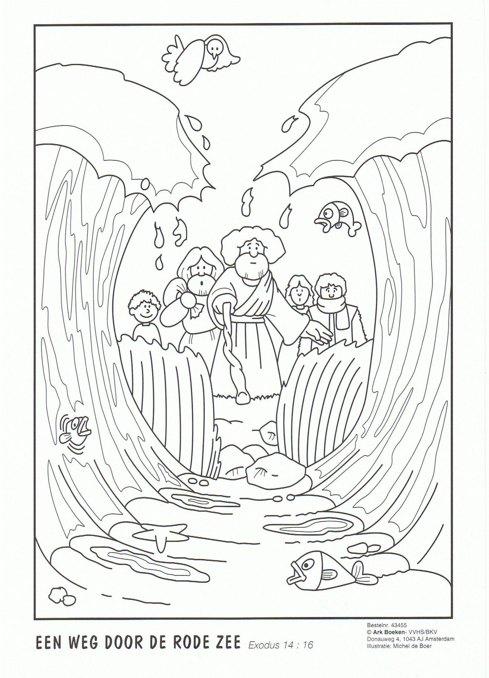 "Képtalálat a következőre: ""red sea hebrews colouring pages"" | bible ..."