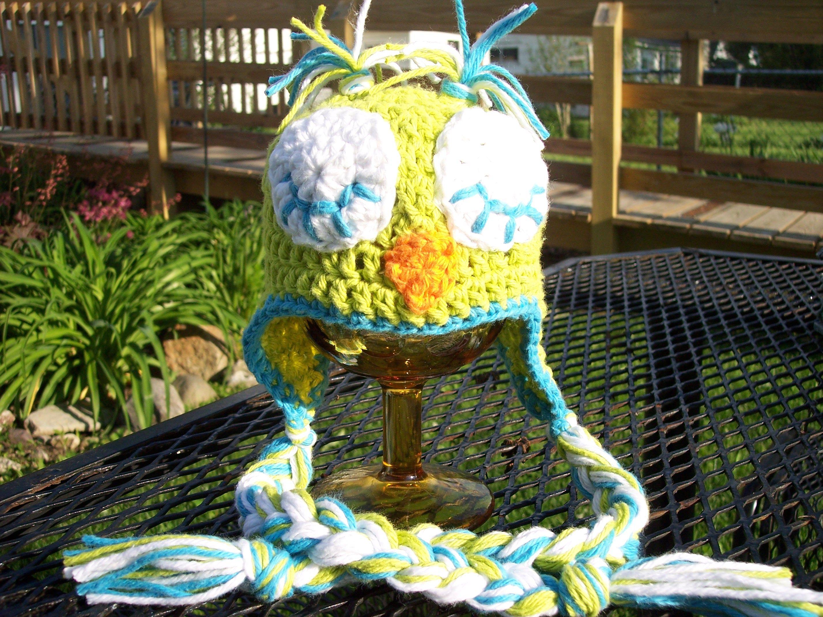Patrón de crochet recién nacido búho | CROCHET gorros sombreros ...