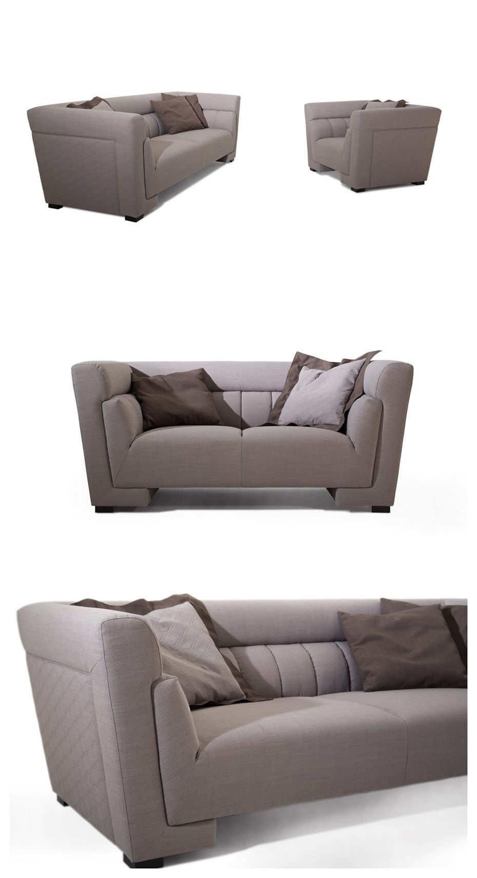 Big Double Layer China Supplier Good Quality Modern Sofa Set