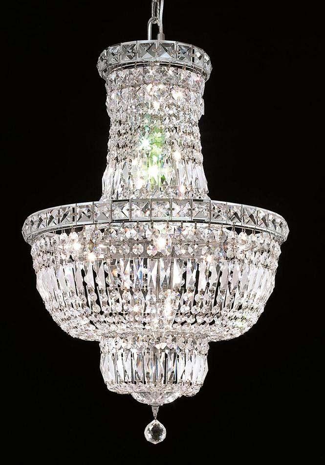 Elegant Lighting 12 Light Tranquil Chandelier Elegant