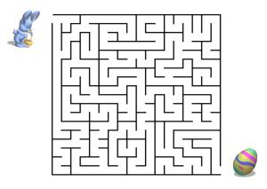 Irrgarten Kreuzworträtsel