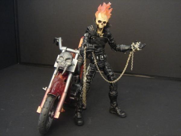 Ghost Rider Series 7 figure modification