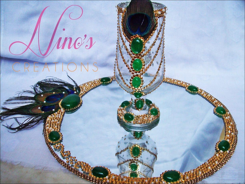Glass decoration ideas - Doodh Pilai Glass For Weddings Decoration Styles And Ideas