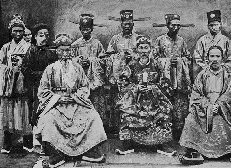 Mandarins in Nguyen Dynasty
