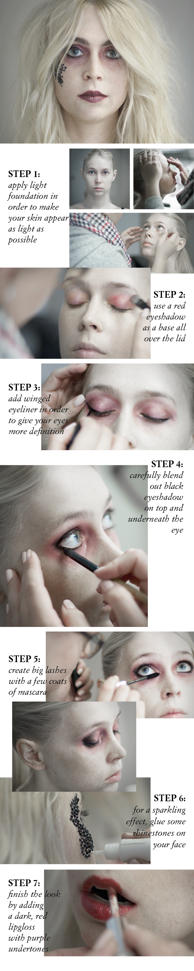 #halloween #makeup #tutorial #dead #bride #grunge #dark