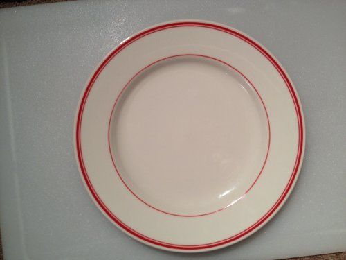 Homer Laughlin Dinnerware America\u0027s Original Diner Banded Dinner Plate Scarlet Banded by Fiesta. $25.00 : dinner plates made in usa - pezcame.com