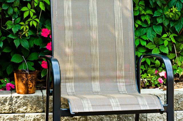 Fine How To Repair Sling Patio Chairs In 2019 Good To Know Interior Design Ideas Gentotthenellocom