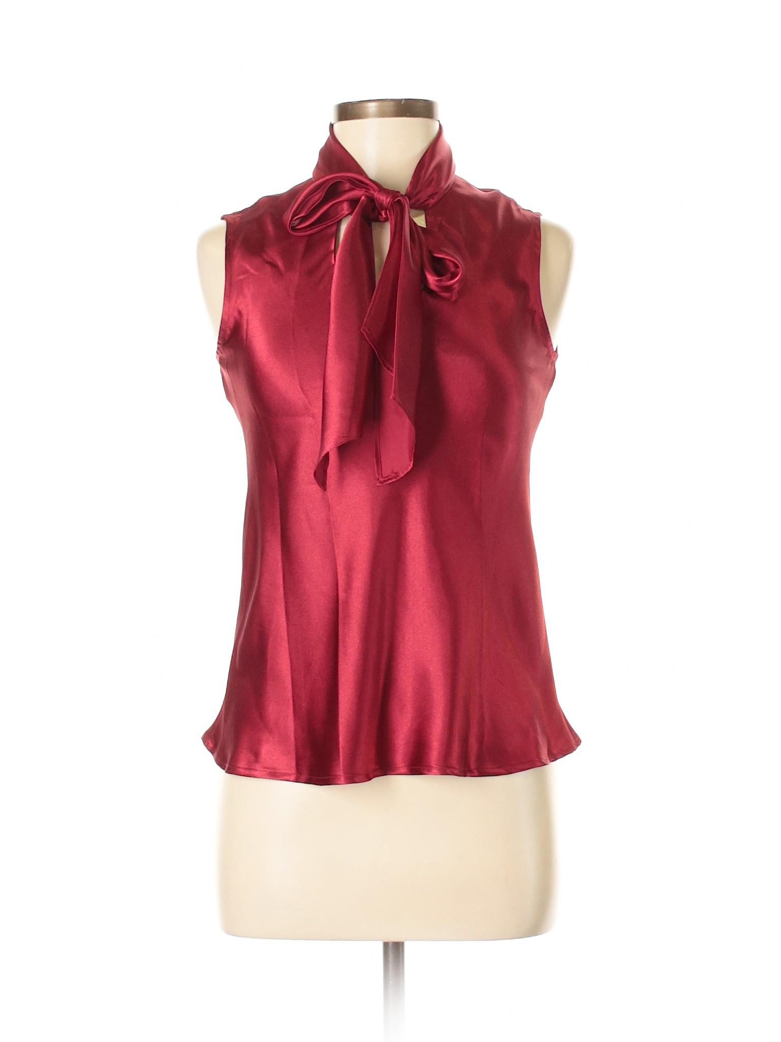 ebefcec958f2f Kasper Sleeveless Blouse  Size 4.00 Red Women s Tops -  14.99 ...