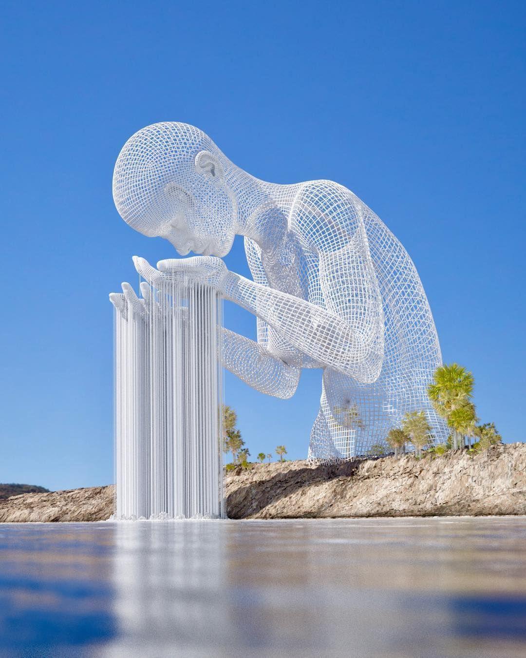 karya seni rupa 3 dimensi yang berfungsi sebagai benda