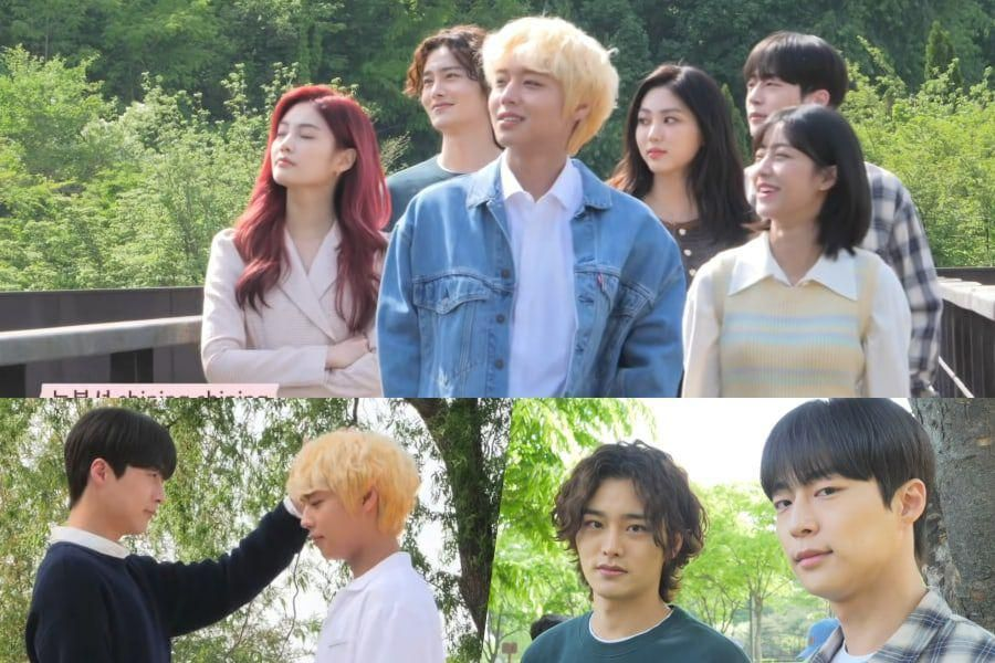 """Watch: """"At A Distance Spring Is Green"""" Cast Enjoys Each Other's Company During Poster Shoot"""