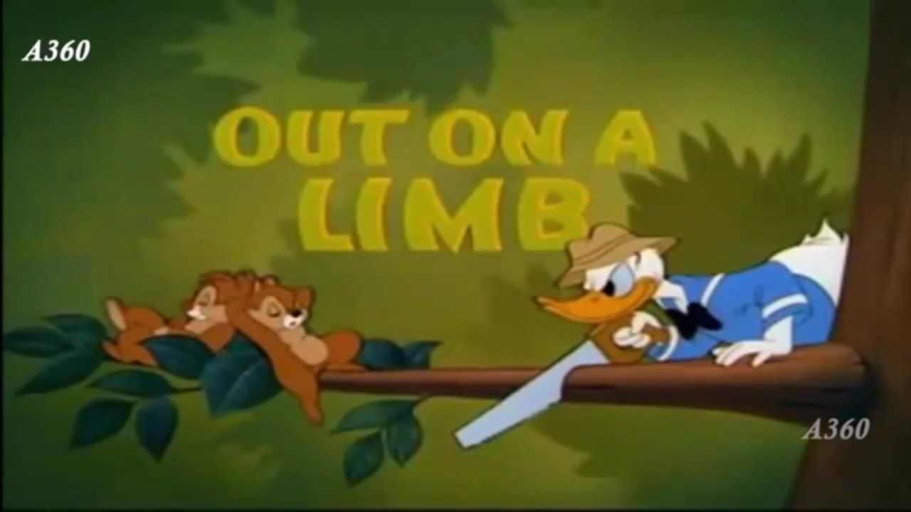 Donald Duck Chip And Dale Out On A Limb Duck Cartoon Friend Cartoon Cartoons Full Movie