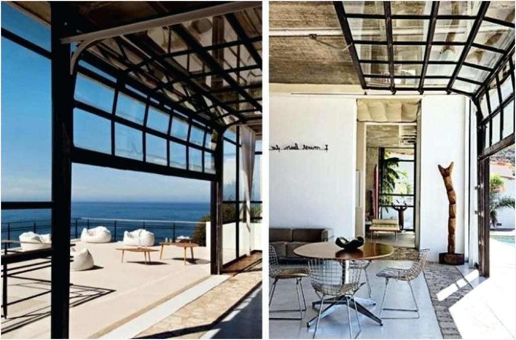 Roll Up Glass Garage Doors Unconvincing Commercial Prices Unique Interior Design 0