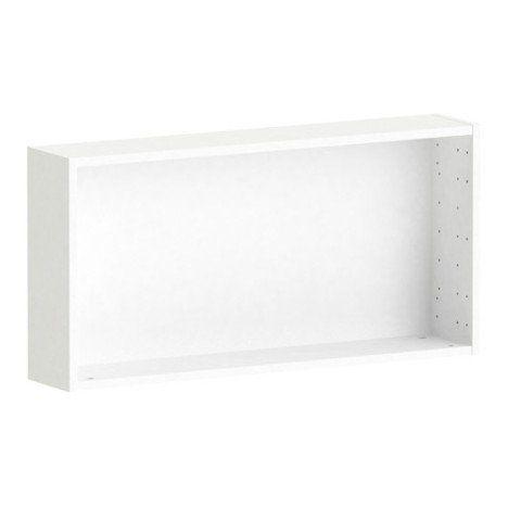 Caisson SPACEO Home 40 x 80 x 15 cm, blanc Entree Pinterest
