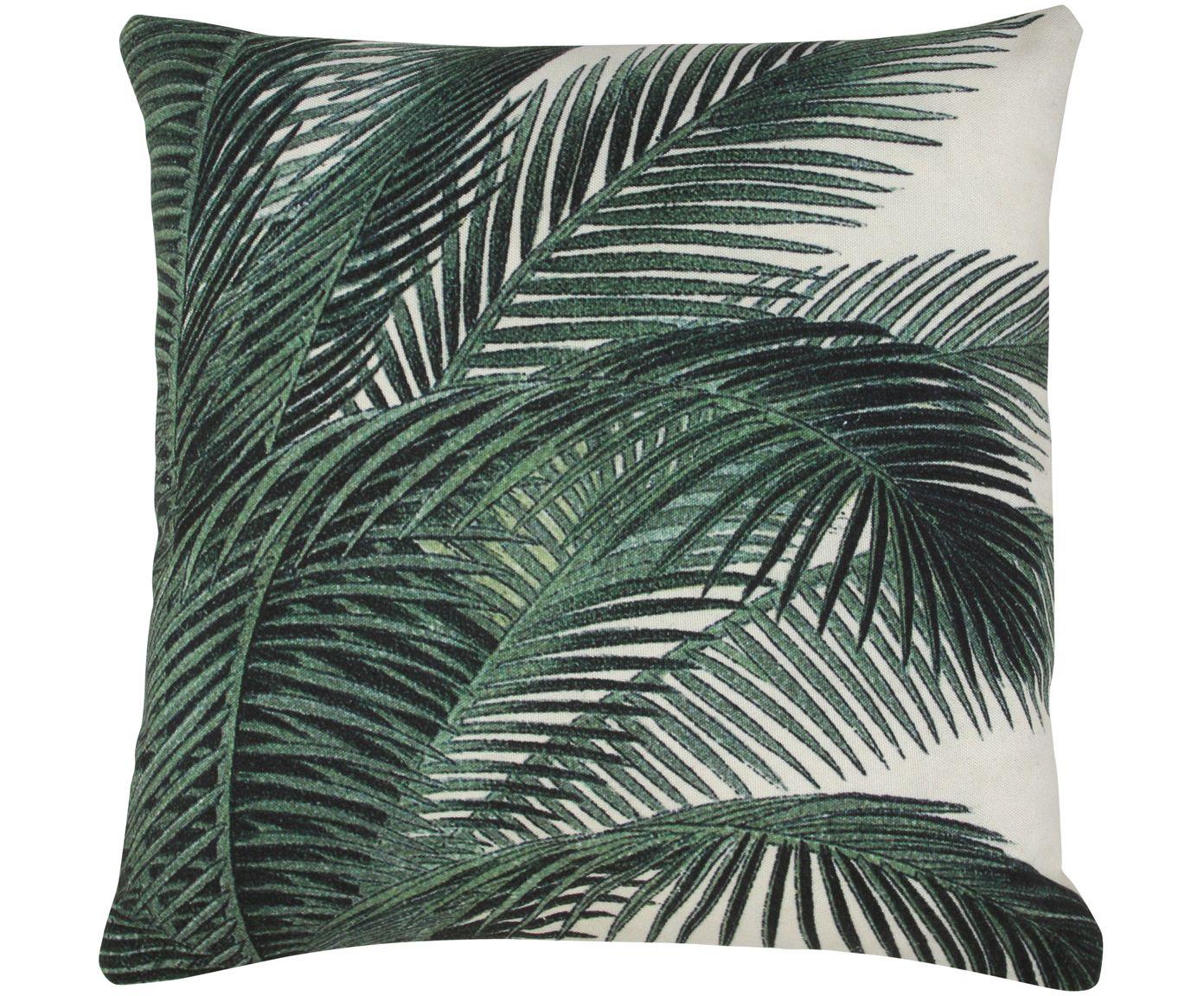 Handgefertigtes Kissen Palm In Grun Von Hkliving Jetzt Online