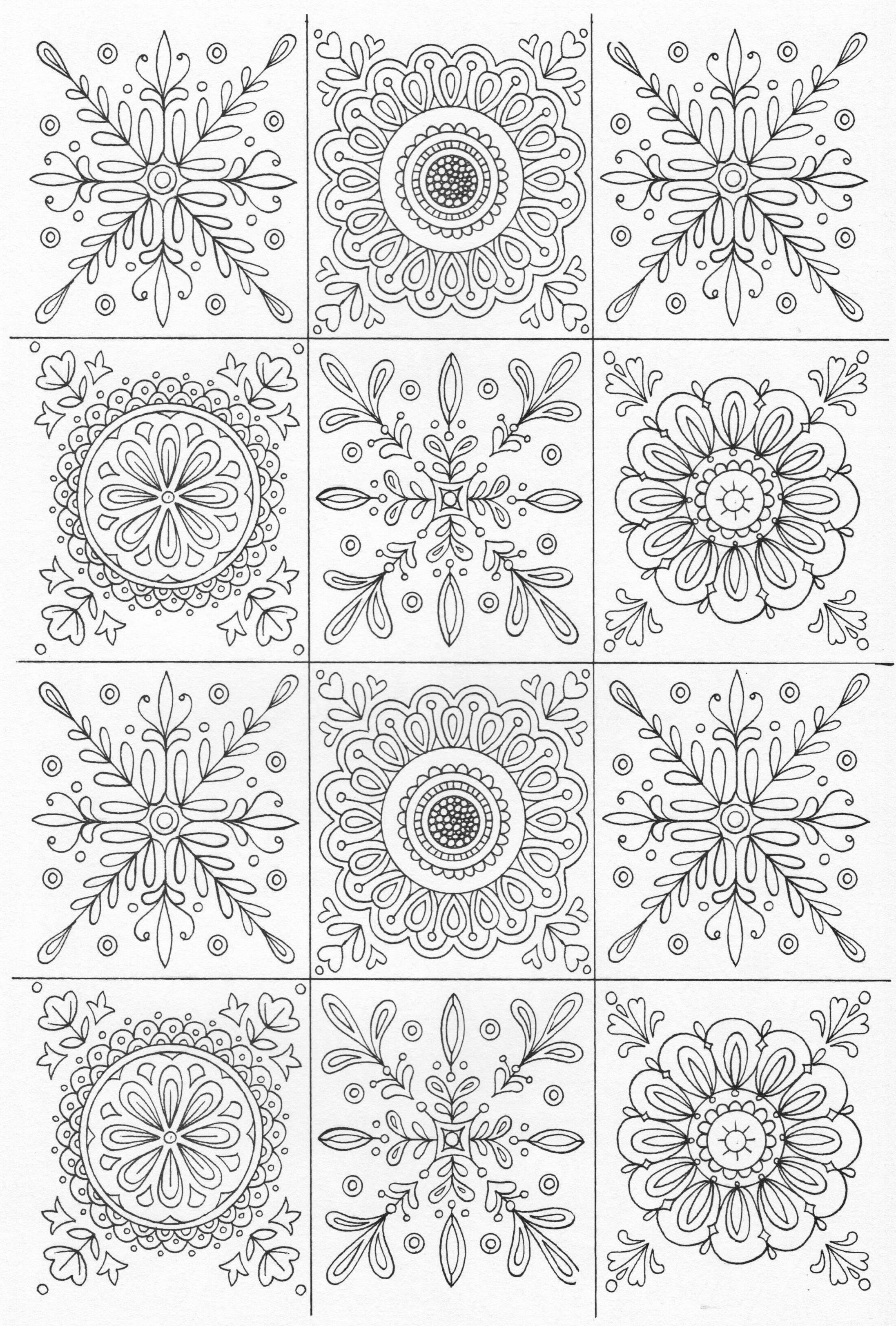 Swear word coloring book sarah bigwood - Scandinavian Coloring Book Pg 19