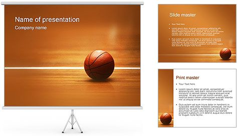 Basketball Powerpoint Template Free Basketball Powerpoint Template