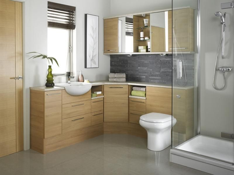 Light Oak Java Bathroom Design   Free Interior House Design Pictures,  Images, Photos And Articles