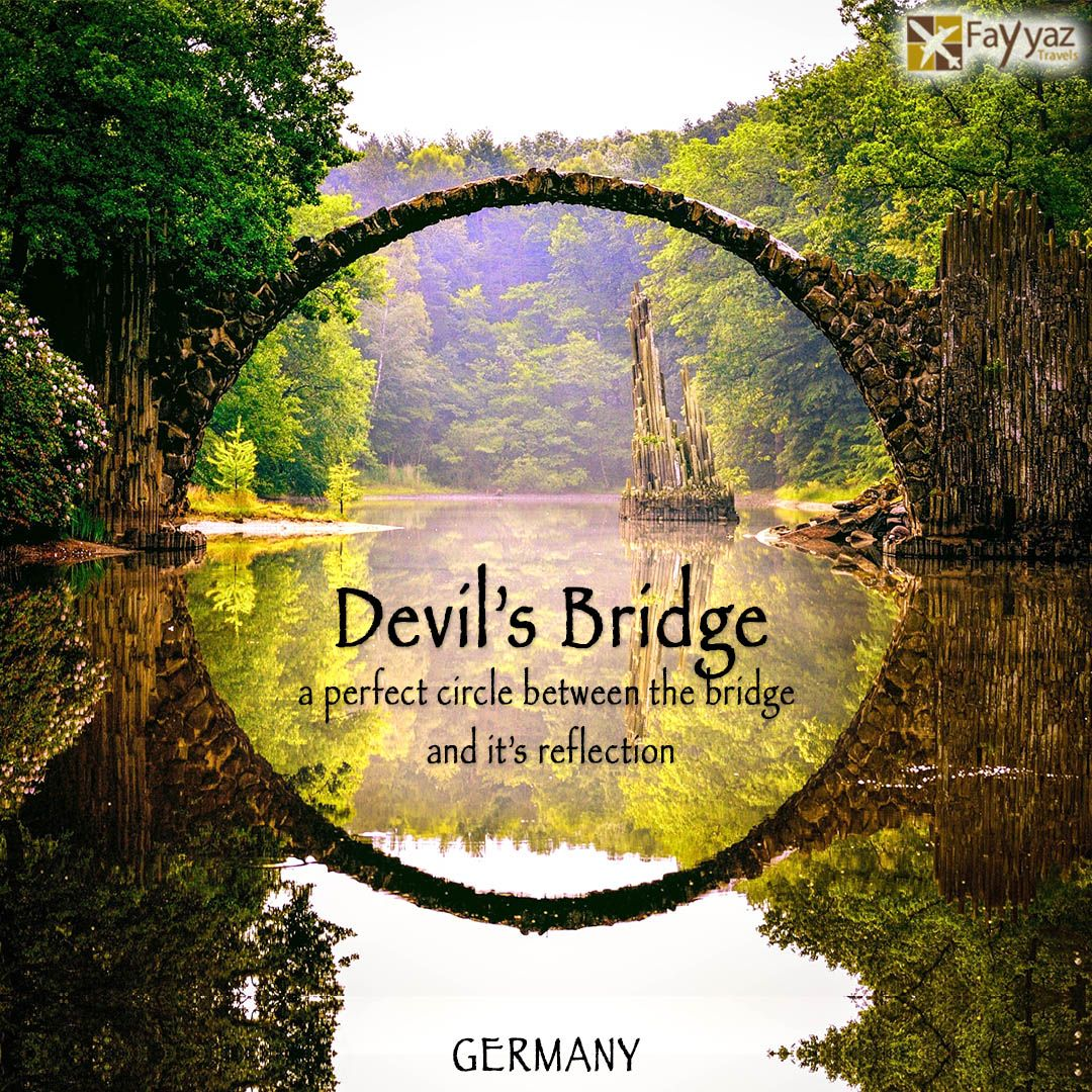 rakotzbr cke bridge or the devil s bridge is located in saxony kromlauer park germany the. Black Bedroom Furniture Sets. Home Design Ideas