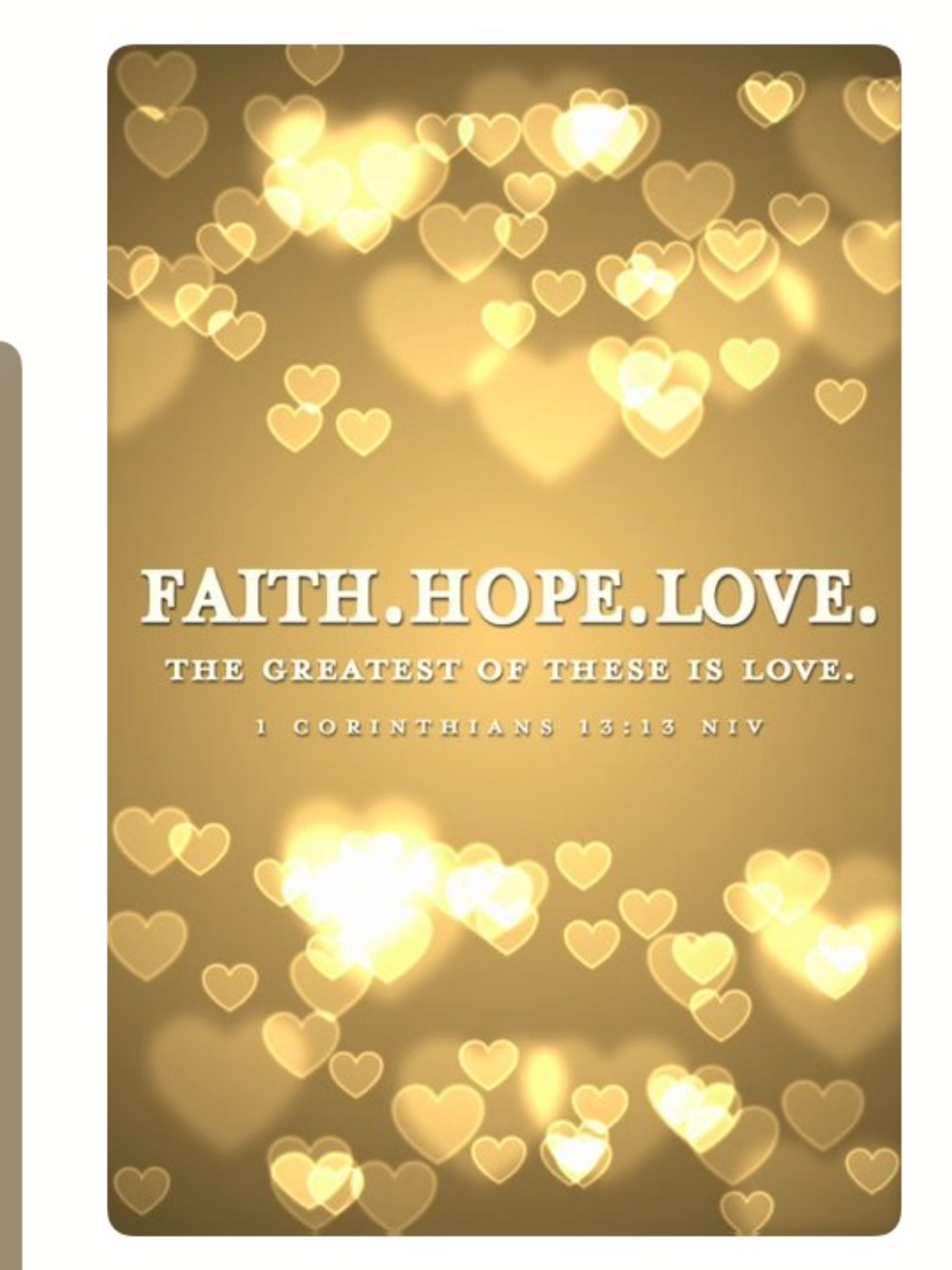 1 Corinthians 13:13 #love