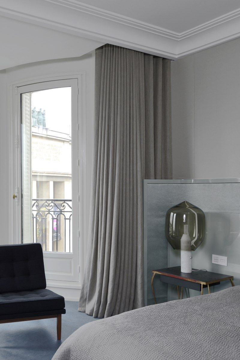 I like the way the curtains pull clear from the window maximising ...