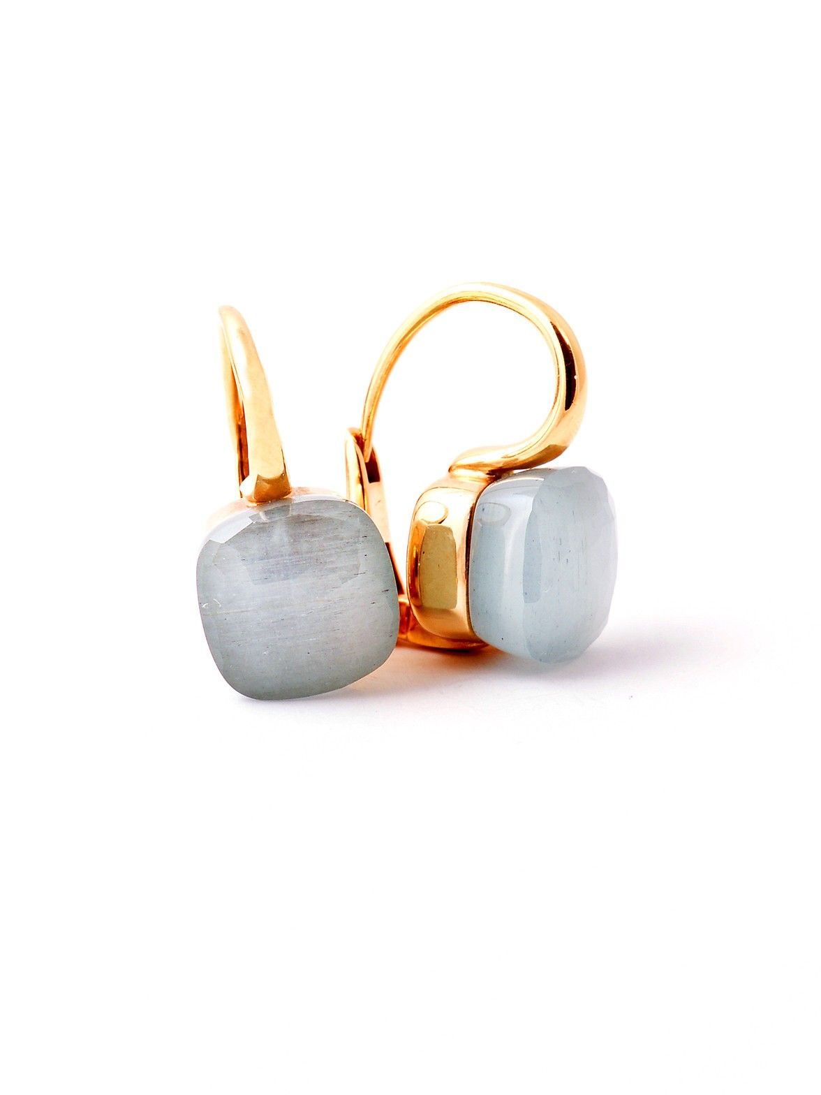 Pomellato Nudo Milky Aquamarine Earrings At London Jewelers