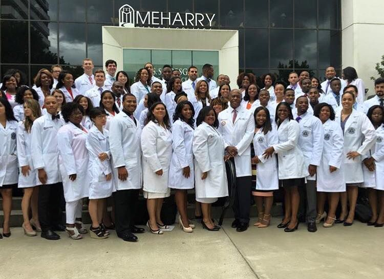 Meharry Medical School >> Meharry Medical College Class Of 2020 Just Received White Coats