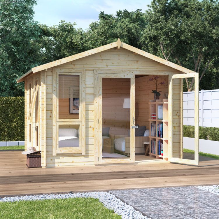 BillyOh Sasha Log Cabin Summerhouse - Summer Houses - Garden ...