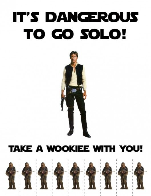 It's Dangerous To Go Solo - Take A Wookie With You #startv