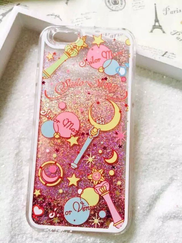 best service 102c1 48b94 Cartoon Flower Sailor Moon Pretty Girl Glitter Star Flowing Water ...
