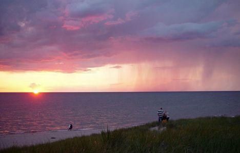 Rainfall at Sunset, Douglas MI