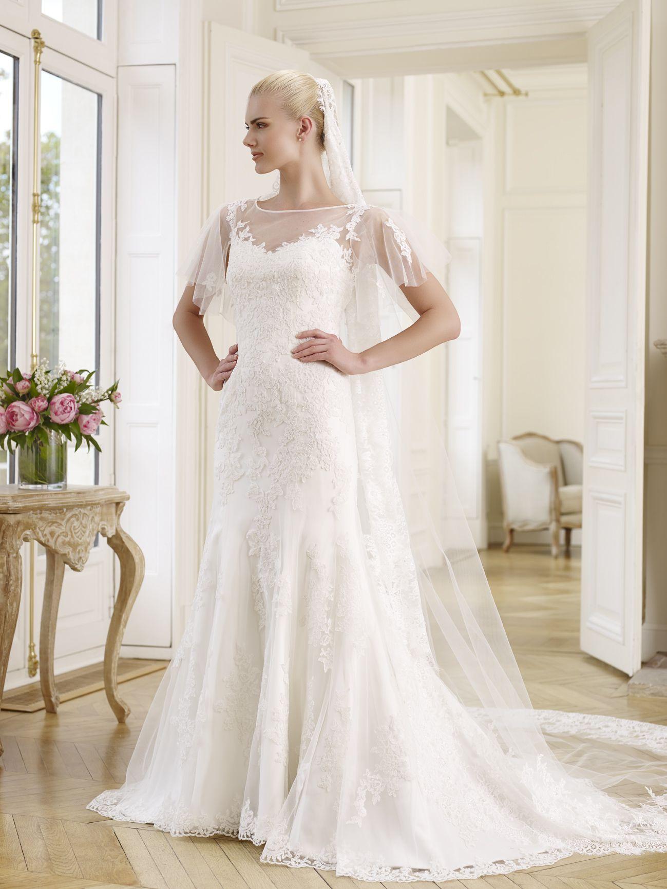 TOLSTOI: Robe de mariée esprit vintage à la silhouette sirène en ...