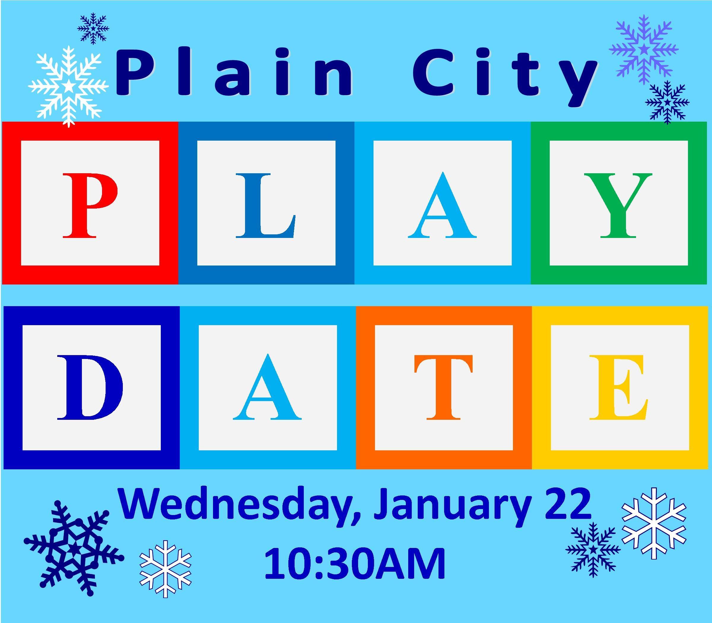 Plain City Playdate Plain City Public Library Plain City
